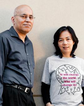 Jitendra Malik and Fei-Fei Li of Stanford