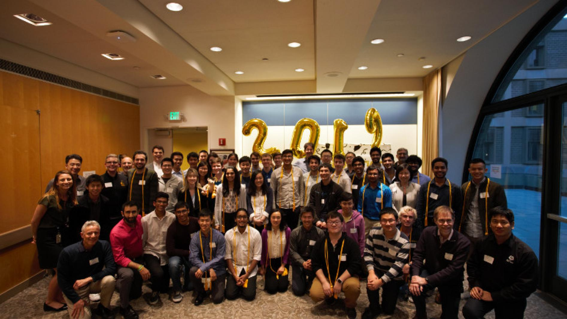 Group photos from the Honors Program Alumni Dinner & Graduation Celebration on April 17 2019